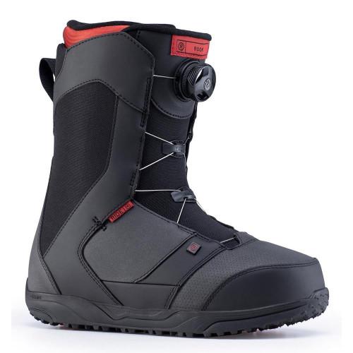 Ride Rook Mens Snowboard Boots Black 2020