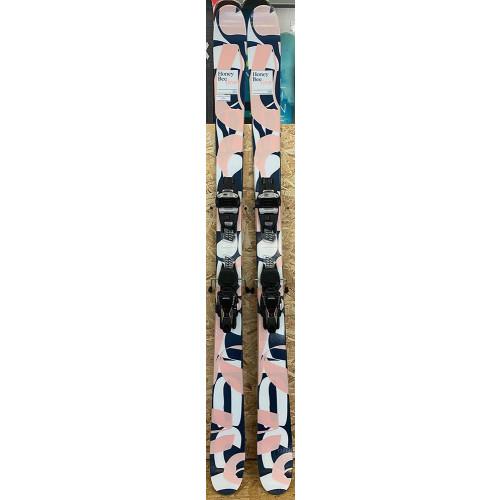 Line Honey Bee 2020 Ex-Demo Womens Skis + Marker Squire 11 TCx D Bindings 166cm