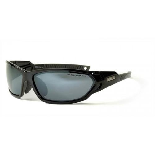 Bloc Scorpion Sunglasses Shiny Black Polarised Lens