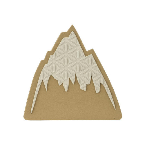 Burton Mountain Logo Traction Mat / Stomp Pad Mountain Logo