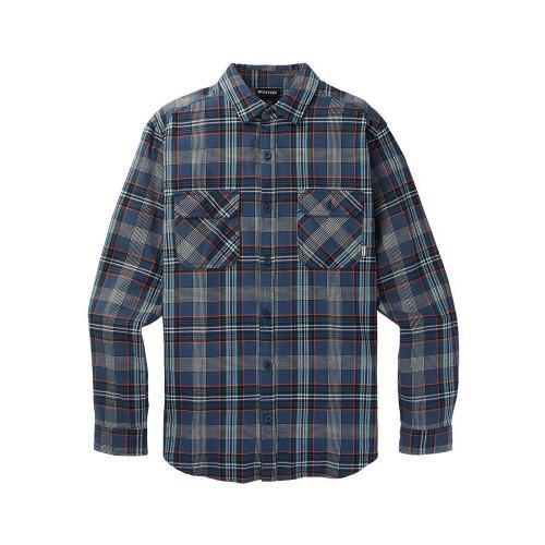 Burton Men's Brighton Flannel Shirt Dress Blue Somerset