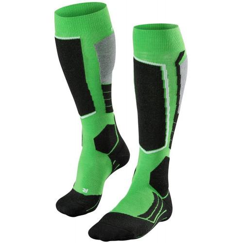 Falke SK2 Mens Ski Socks Vivid Green