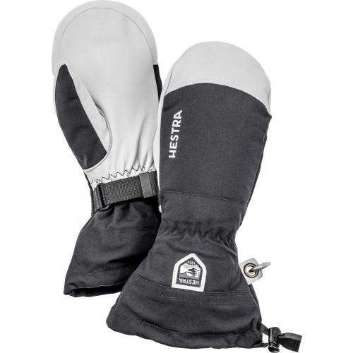 Hestra Army Leather Heli Ski Mitts Black