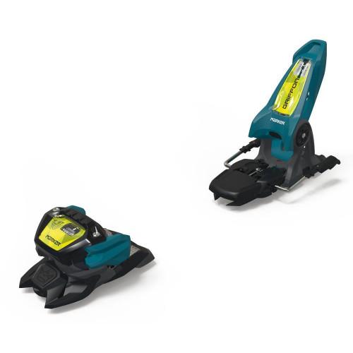 Marker Griffon 13 ID Ski Bindings Teal/Flo-Yellow