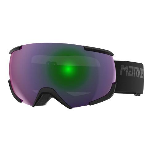 Marker 16:10+ OTG Goggles Black - Green Plasma Mirror + Clarity Mirror Lens