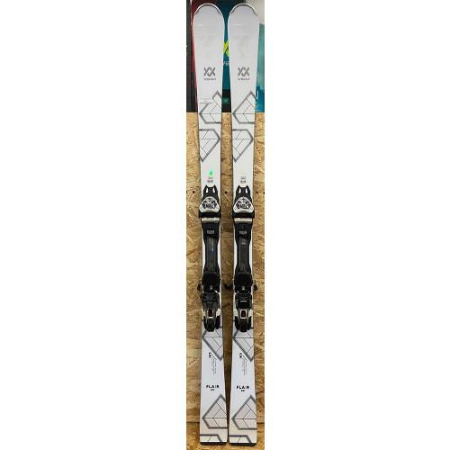 Volkl Flair SC 2020 Womens Ex-Demo Skis + VMotion 11 GW Lady Bindings 163cm (1)