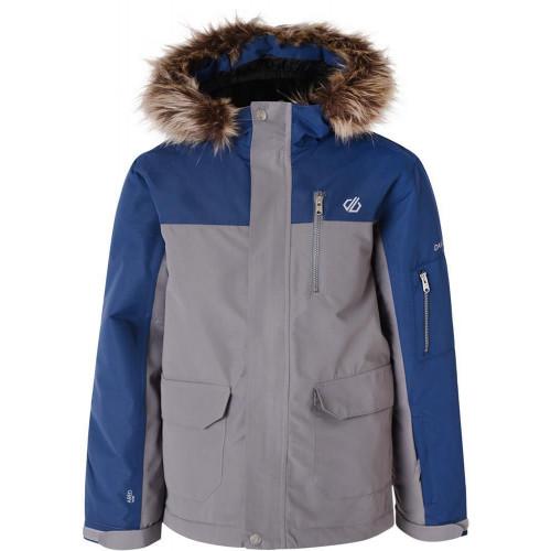 Dare 2b Furtive Kids Jacket Aluminium Grey/Admiral Blue