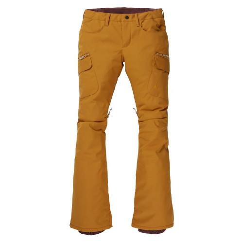 Burton Gloria Insulated Womens Pants Harvest Gold