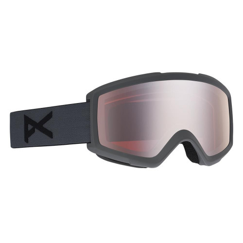 Anon Helix 2.0 Goggles Stealth - Silver Amber + Amber Spare Lens