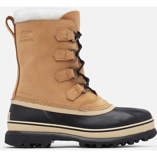 Sorel Mens Caribou Snow Boots Buff