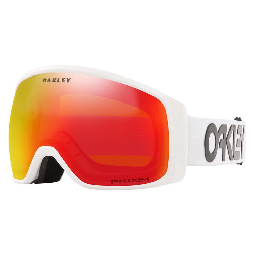Oakley Flight Tracker XM Goggles Factory Pilot White-Prizm Snow Torch Lens