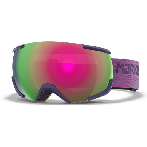 Marker 16:10+ Goggles Fuchsia - Pink Plasma Mirror + Clarity Mirror Lens