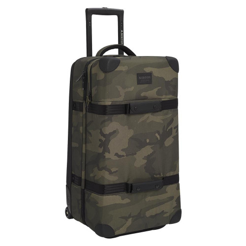 Burton Wheelie Double Deck 86L Travel Bag Worn Camo Ballistic