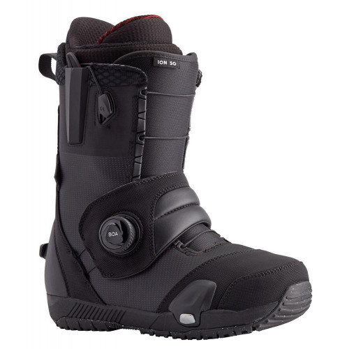 Burton Ion Step On Mens Snowboard Boots Black 2021