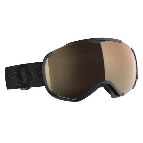 Scott Faze II LS Goggles Black - Light Sensitive Bronze Chrome Lens