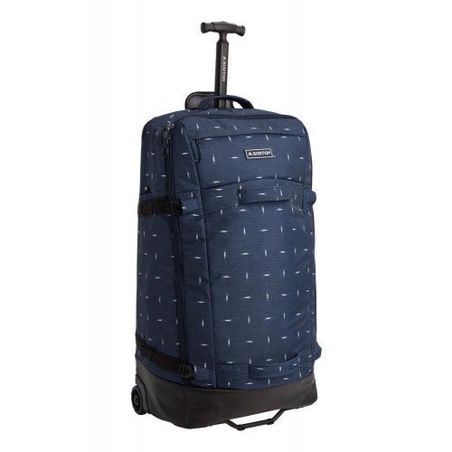 Burton Multipath 90L Checked Travel Bag Dress Blue Basket Ikat