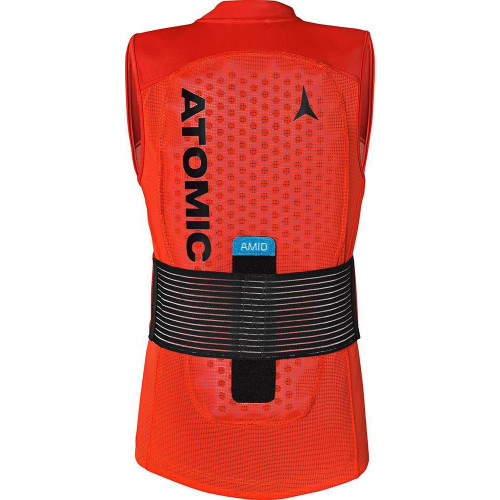 Atomic Live Shield AMID JR Back Protector Red