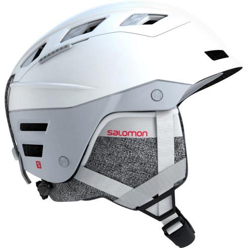 Salomon QST Charge W MIPS Womens Ski + Snowboard Helmet White Pop