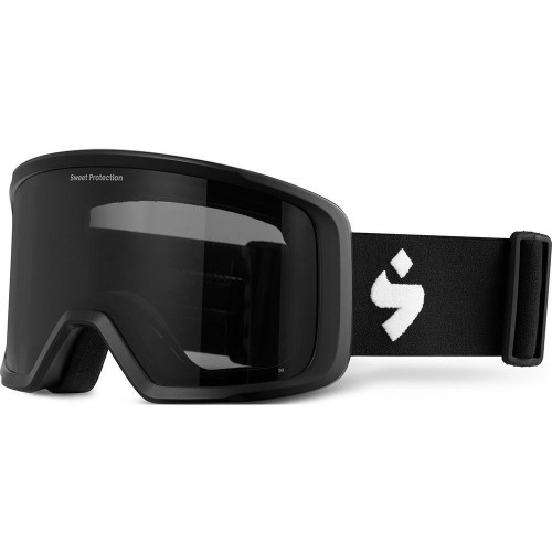 Sweet Protection Firewall Goggles Matte Black Obsidian Black Lens 2020