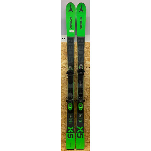 Atomic Redster X5 Ex-Demo Skis + M10 GW Bindings 2021 168cm
