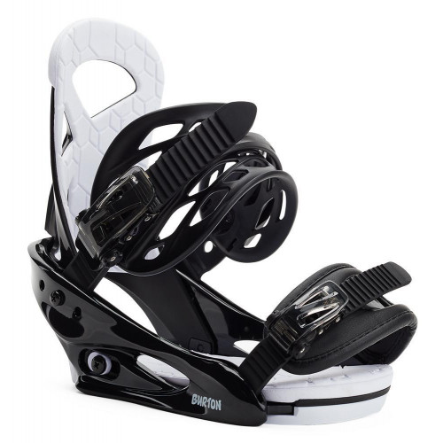Burton Smalls Re:Flex Kids Snowboard Bindings Black 2021