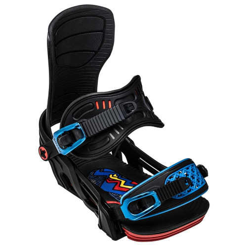 Bent Metal Axtion Forest Bailey Snowboard Bindings Blue 2021