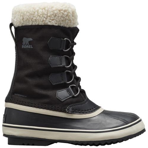 Sorel Womens Winter Carnival Snow Boots Black/Stone