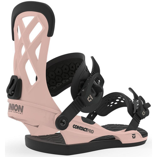 Union Contact Pro Snowboard Bindings Pink 2020