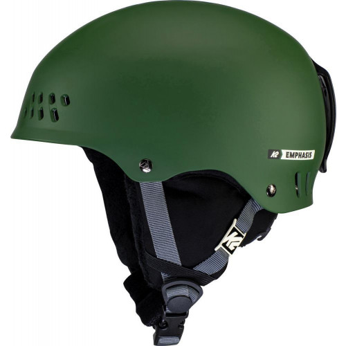 K2 Emphasis Womens Ski + Snowboard Helmet Forest Green