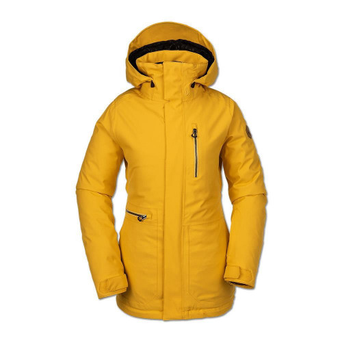 Volcom Shelter 3D Stretch Womens Jacket Yellow 2020