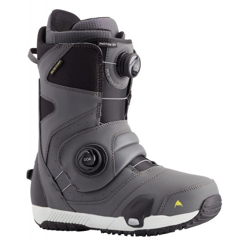 Burton Photon Step On Mens Snowboard Boots Grey 2021