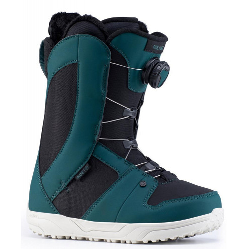Ride Sage BOA Womens Snowboard Boots Green 2020