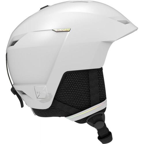 Salomon Icon LT Womens Ski + Snowboard Helmet White