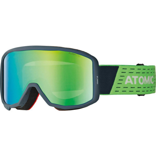 Atomic Count JR Cylindrical Goggles Blue/Green