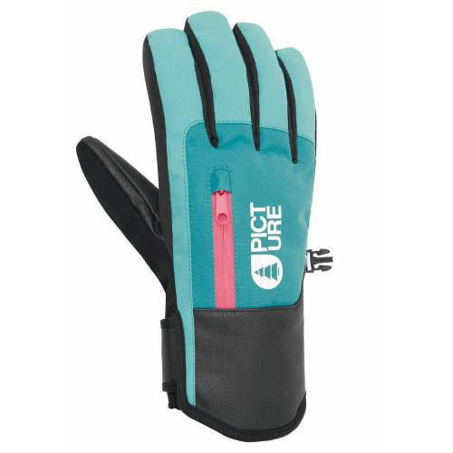 Picture Kakisa Women's Gloves Light Blue/Dark Blue