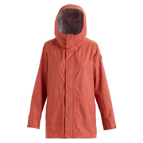 Burton Womens Tulpa 2.5L Jacket Burnt Sienna