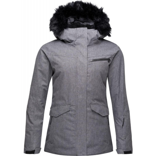 Rossignol Women's Parka Heather Jacket Heather Grey