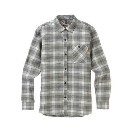 Burton Womens Grace LS Flannel Shirt Phantom Montage Plaid