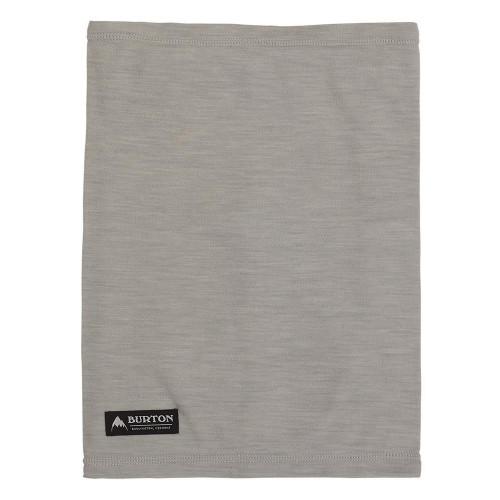 Burton Merino Wool Neckwarmer Grey Heather