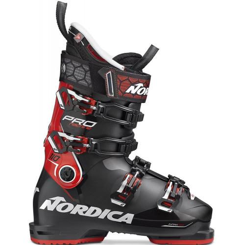 Nordica Pro Machine 110 Mens Ski Boots Black/Red/White 2020