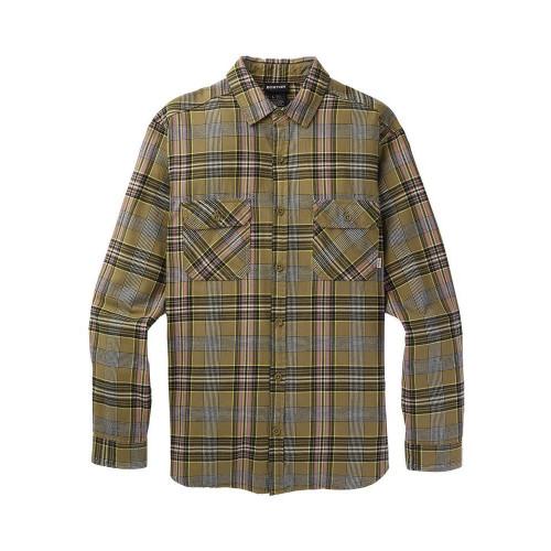 Burton Men's Brighton Flannel Shirt Martini Olive Somerset Plaid