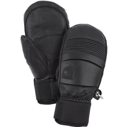 Hestra Leather Fall Line Mitts Black