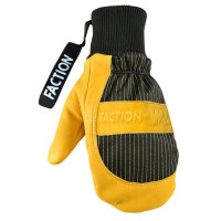 Faction x Wells Lamont Collab Leather Mitts Yellow