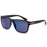 Bloc Tide Unisex Sunglasses Matt Black - Blue Mirror Cat.3 Lens