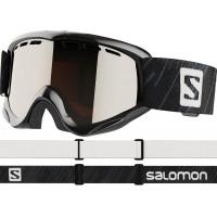 Salomon Juke Junior Goggles Black - Universal Silver Lens