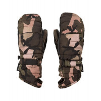 Volcom Peep GORE-TEX Womens Mitts Faded Army