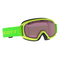 Scott Jr Witty Junior Goggles High Viz Green - Enhancer Lens