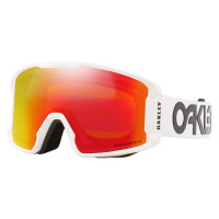 Oakley Line Miner XM Goggles Factory Pilot White-Prizm Snow Torch Lens