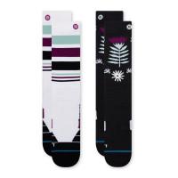 Stance Monro 2 Pack Womens Ski + Snowboard Socks Multi