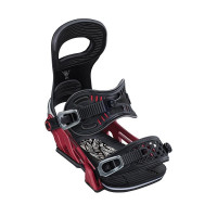 Bent Metal Transfer Snowboard Bindings Red 2020